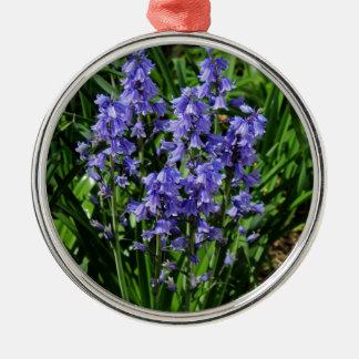 Bluebells Metal Ornament
