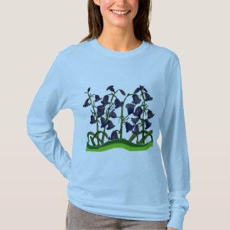 Bluebells on Women's Long Sleeve Shirt