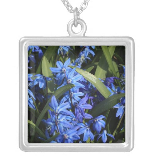 bluebells pendant