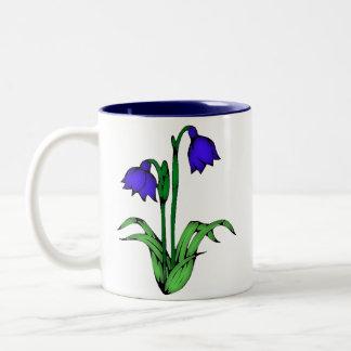 Bluebells Two-Tone Coffee Mug