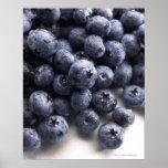 Blueberries 2 poster