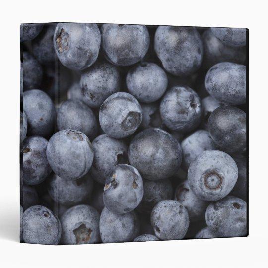 Blueberries 3 Ring Binder