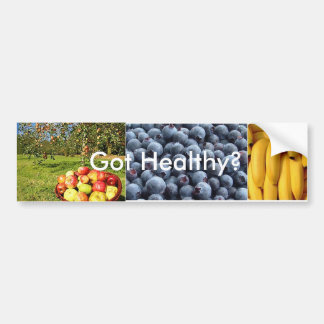 blueberries, apple1703_468x706, bananas, Got He... Bumper Sticker