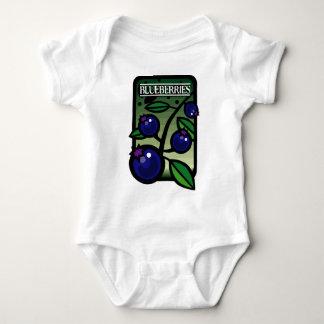 Blueberries Baby Bodysuit