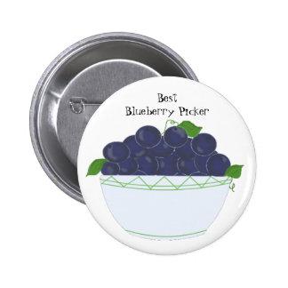 Blueberries - Best Blueberry Picker Buttons