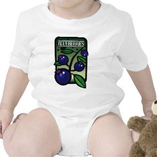 Blueberries Bodysuits