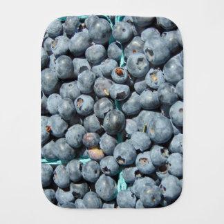 Blueberries Burp Cloth