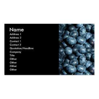 Blueberries Business Card