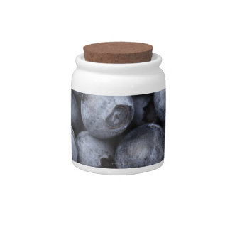 Blueberries Candy Jars