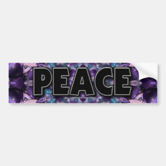 Blueberries & Cream, Peace Bumper Sticker
