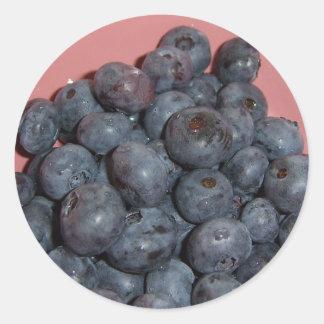 Blueberries CricketDiane Art, Design & Photography Classic Round Sticker