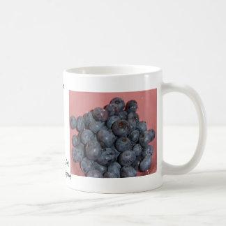 Blueberries CricketDiane Art, Design & Photography Classic White Coffee Mug