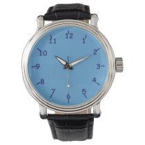 Blueberries Delight Wrist Watch