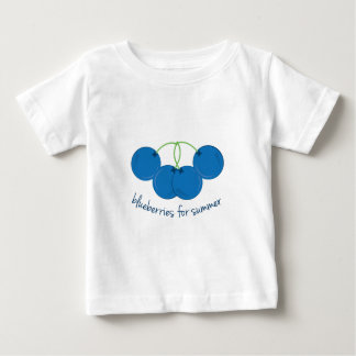 Blueberries for Summer Baby T-Shirt