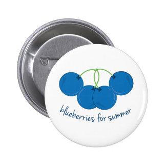 Blueberries for Summer Pin