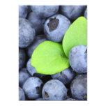 Blueberries Invitation