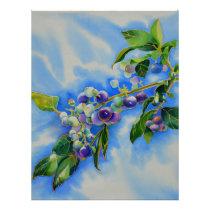 Blueberries Letterhead