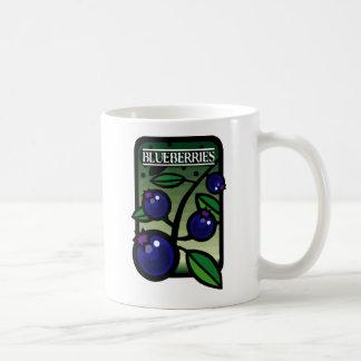 Blueberries Classic White Coffee Mug