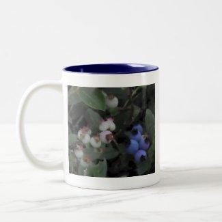Blueberries Newfoundland Souvenir Mug mug