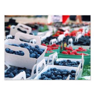 Blueberries // Nice, France Photo Print