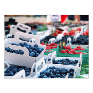 Blueberries // Nice, France Photo