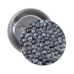 Blueberries on Glass Pins