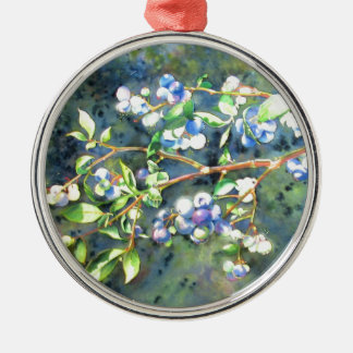 Blueberries Ornament