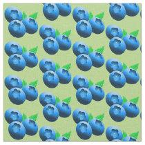 Blueberries Pattern Fabric