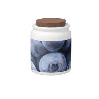 BLUEBERRIES PHOTOGRAPHY FRUITS HEALTHY CANDY JAR
