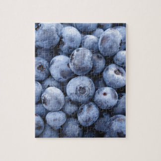 BLUEBERRIES PHOTOGRAPHY FRUITS HEALTHY JIGSAW PUZZLE
