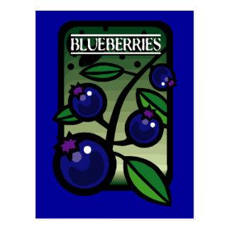 Blueberries Postcards