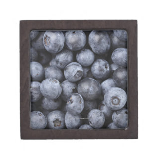 Blueberries Premium Trinket Box