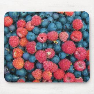 Blueberries & Raspberries Mouse Pad