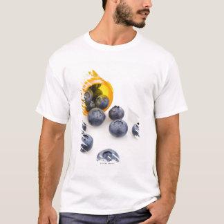 Blueberries spilling from prescription bottle T-Shirt