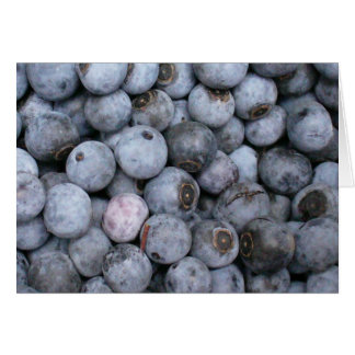 Blueberries Stationery Note Card
