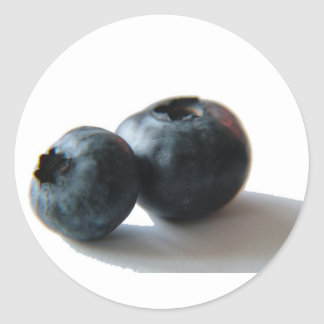 Blueberries stickers