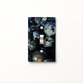 Blueberries switch plate light switch plate