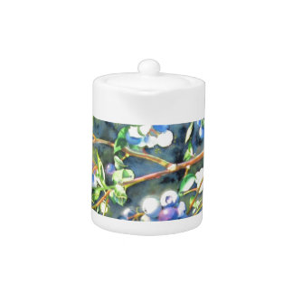Blueberries Teapot