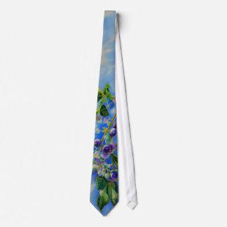 Blueberries Tie