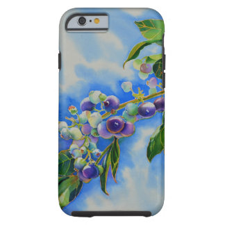 Blueberries Tough iPhone 6 Case