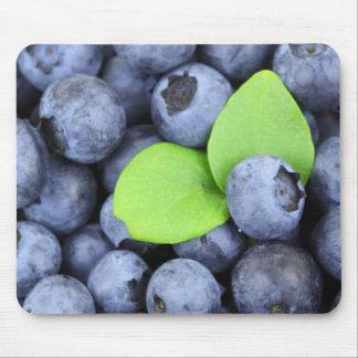 Blueberries v1 mouse pad