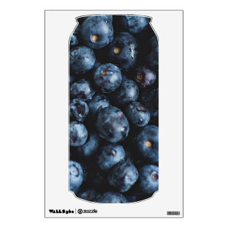 Blueberries wall decal