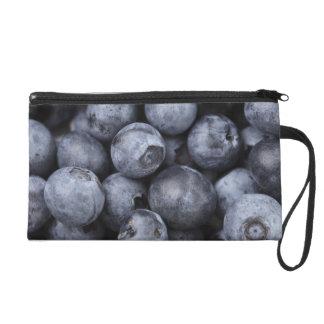 Blueberries Wristlet