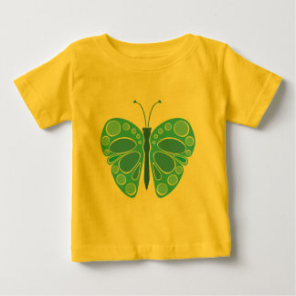 Blueberry 60s Whimsical Butterfly Baby T-Shirt