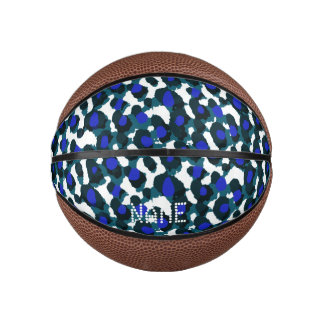 Blueberry Abstract Basketball