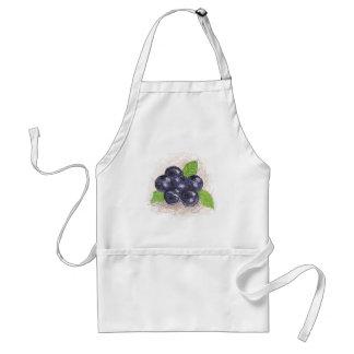 blueberry adult apron