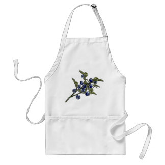 Blueberry Adult Apron