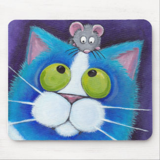 Blueberry and Wee Mousey Mousepad