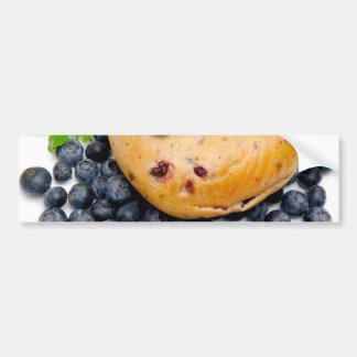 Blueberry Bagel Bumper Sticker