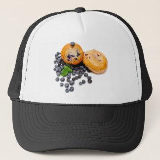 Blueberry Bagel Trucker Hat